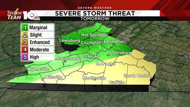 More strong-to-severe storms possible Thursday afternoon