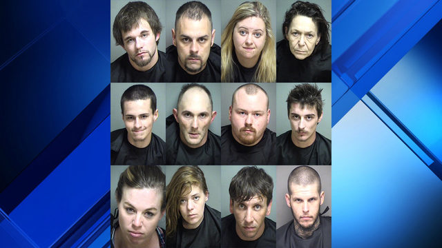 Meth distribution ring toppled in Amherst County as authorities arrest 12 people
