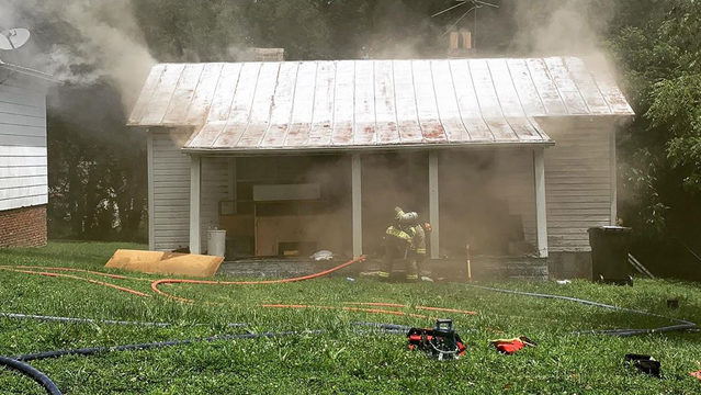 Danville home fire determined to be arson, suspect arrested