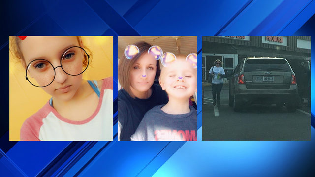 Wanted Virginia woman missing with her two children, ages 4 and 11