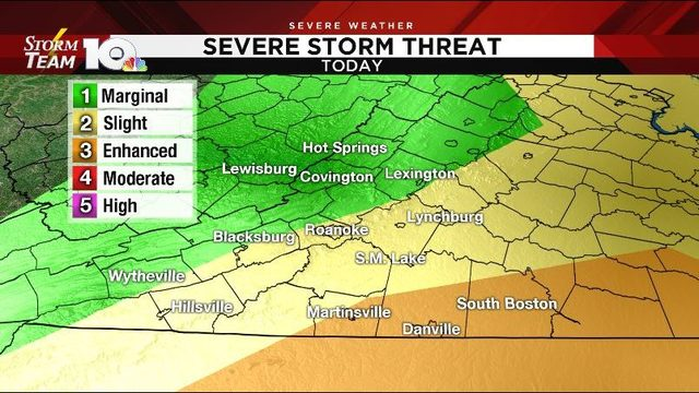 Severe weather threat increasing Thursday