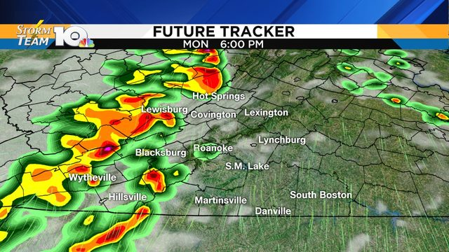 Strong-to-severe storms possible again late Monday, Monday night