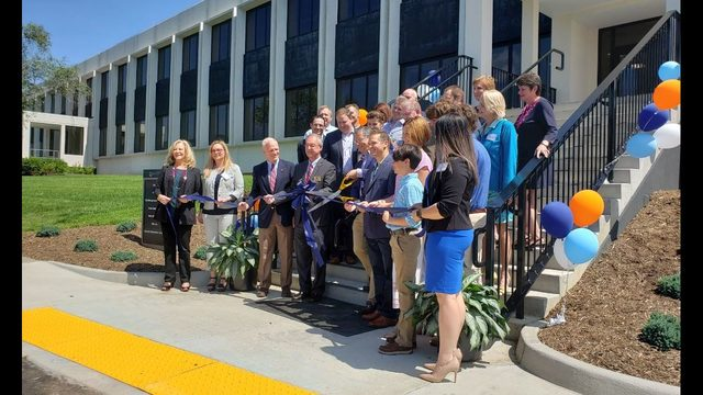 Roanoke County touts grand opening for former Allstate building as success