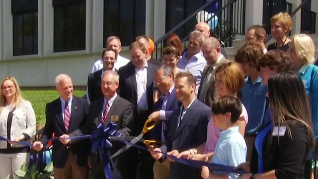 Roanoke County leaders celebrate new life at former Allstate building