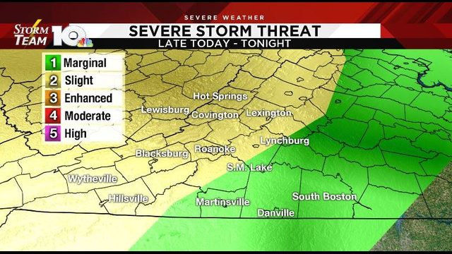 Heat surging back Monday, strong storms possible late
