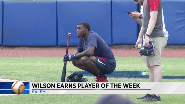 Marcus Wilson earns Carolina League honors