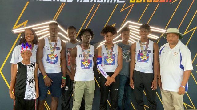 William Fleming 800 meter medley bring home National Title