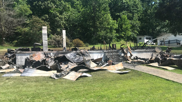 One dead, home destroyed in Rockbridge County fire