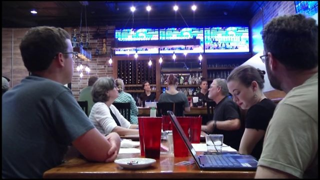 Roanoke Democrats gather to watch debates and share who their front-runners are