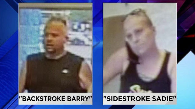 'Backstroke Barry,' 'Sidestroke Sadie' identified after swimming pool…