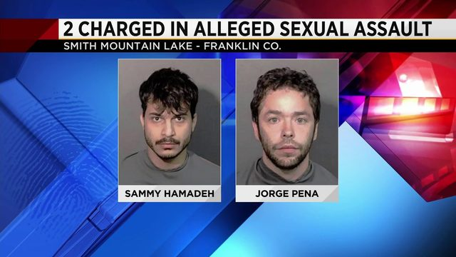 Two men arrested after alleged sexual assault at Smith Mountain Lake
