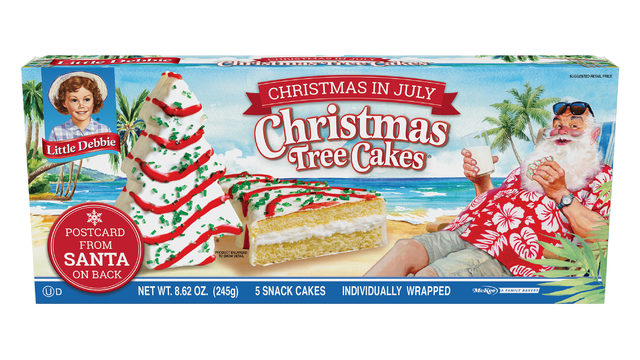 Christmas comes early with Little Debbie's Christmas Tree Snack Cakes