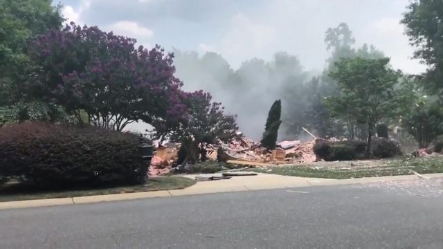 Search continues for survivors after home explosion in Charlotte
