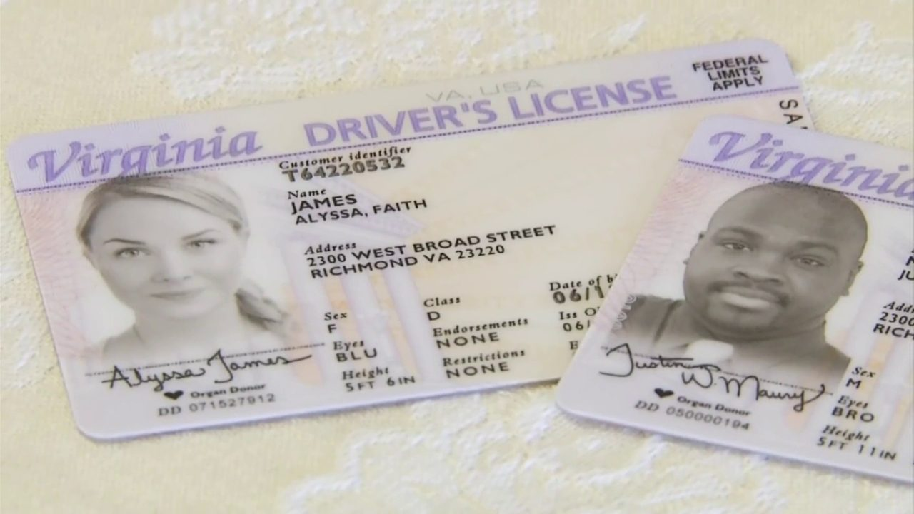 Virginia reinstating licences of those who lost their to