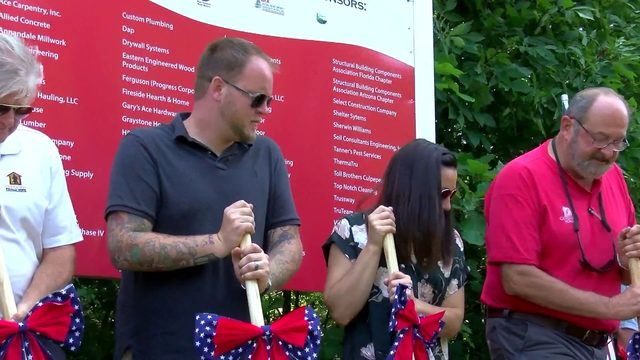 Marine veteran receives mortgage free home in Virginia