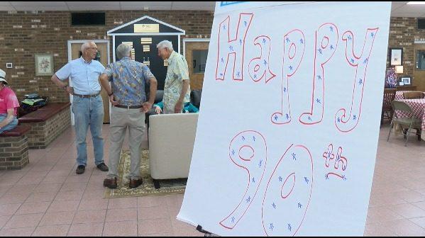 Habitat for Humanity volunteers celebrate 90th birthdays