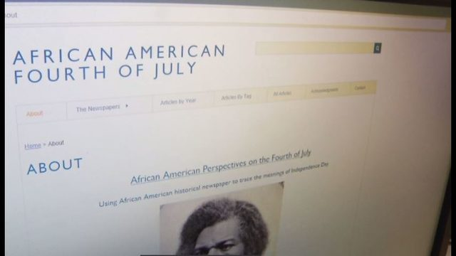 VT history students examine the Independence Day experience for African…