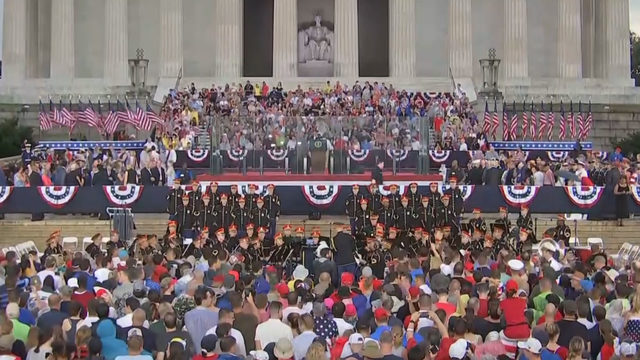 WATCH: 'Salute to America' 4th of July Celebration in Washington, D.C.