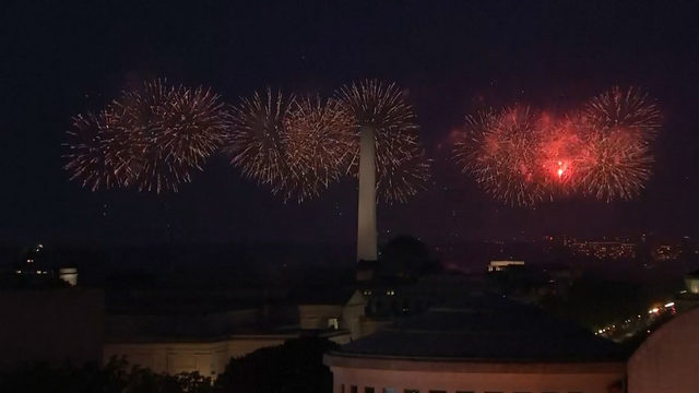 WATCH: Salute to America fireworks show in Washington, D.C.