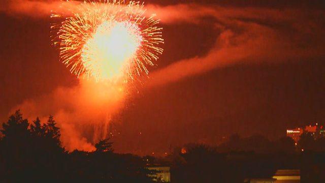 WATCH: Roanoke's fireworks show
