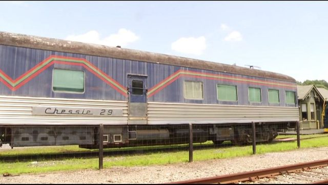 Chessie 29, historical railway car makes its home at C&O Railway Heritage Center