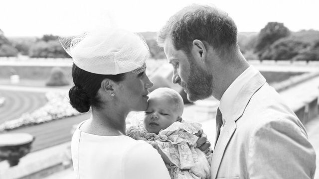 Royal baby Archie christened at private ceremony