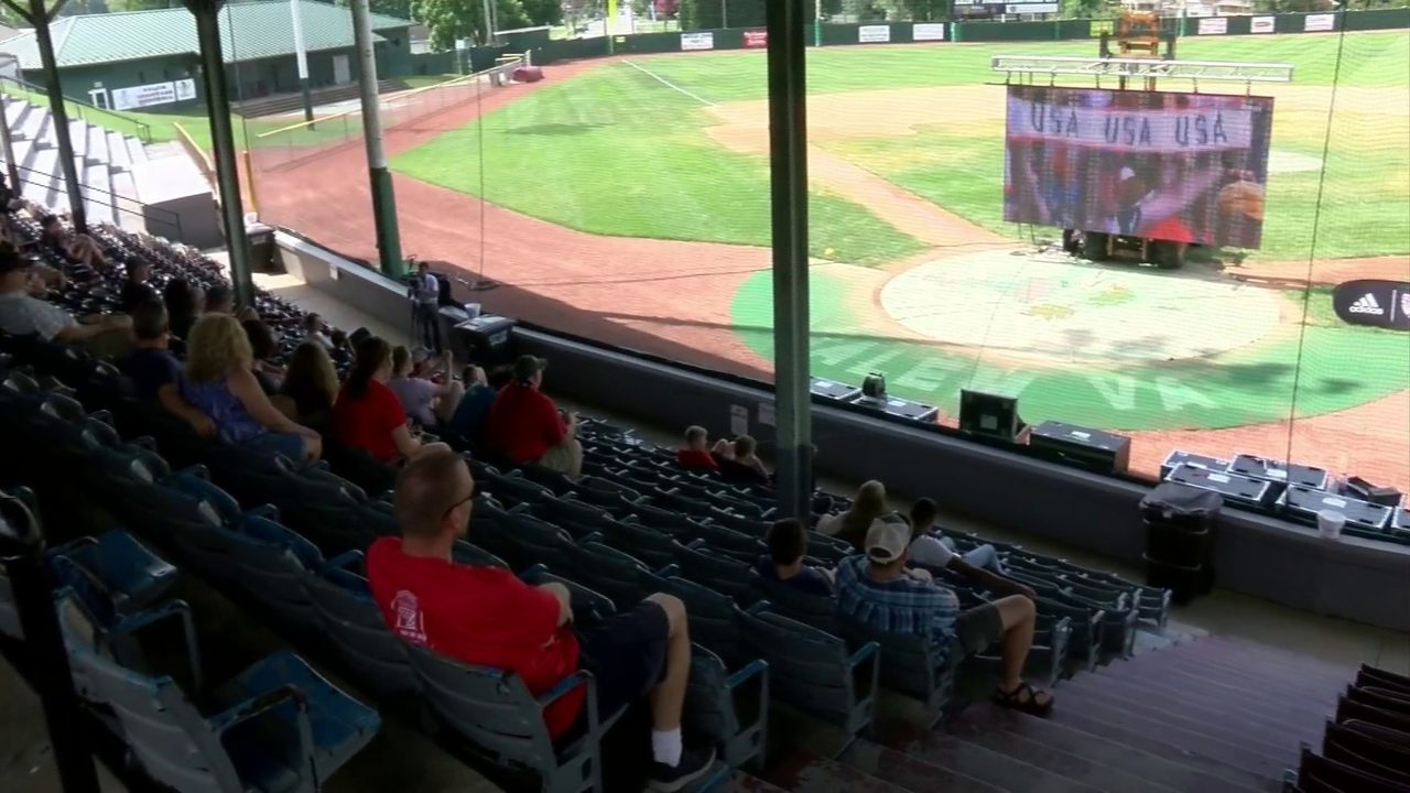 VBR Star breaks out big screen for World Cup watch party