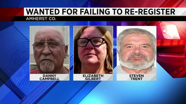 Police searching for 3 convicted sex offenders last known living in…