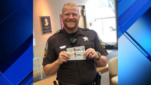 Roanoke deputies 'ticket' kids with free 7/11 slurpees