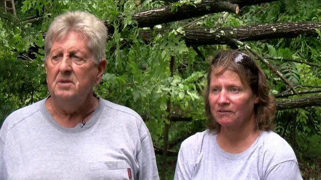 'It was scary': Botetourt County couple recalls being trapped in flash…