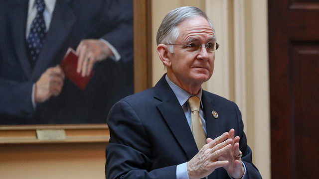 Sen. Norment spikes his gun-control legislation one day after proposing it