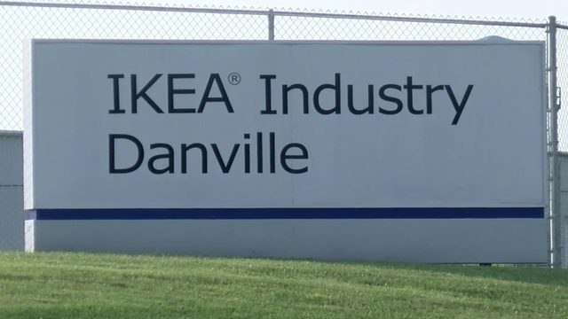 IKEA shutting down Danville plant where 300 people work