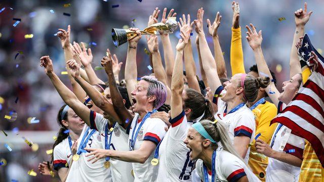 Secret brand deodorant donates to US women's soccer to help close wage gap