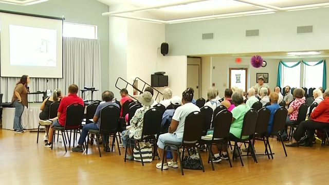 Disaster preparedness presentation held for seniors in Danville