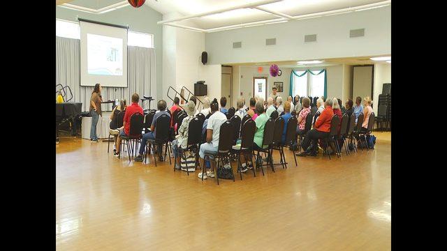 Disaster preparedness presentation held for seniors in Danville