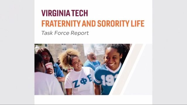 Virginia Tech warns that suspended fraternities, sororities are 'serious threat'