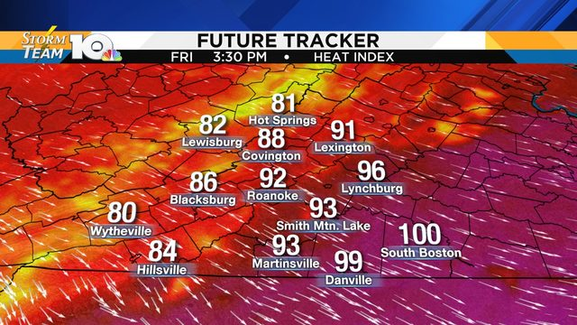 High heat lingers; Barry threatens Louisiana coast