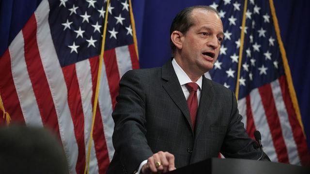 Labor Secretary Acosta resigns amid Epstein deal scrutiny