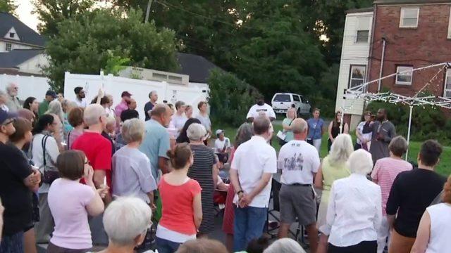 Roanoke Light for Liberty rally