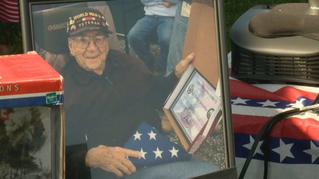 New Freedom Farm hosts veterans' breakfast in honor of WWII Marine