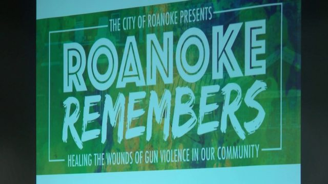 Roanoke Remembers searches for solutions to gun violence