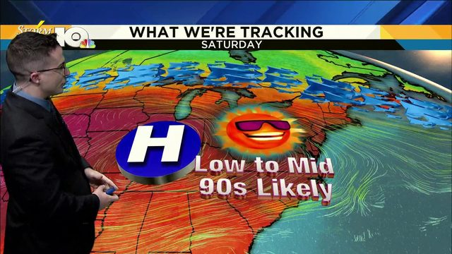 Chris' July 15, 2019 Noon Forecast