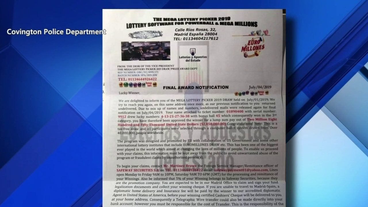 Police warning of two scams aimed at stealing your personal info