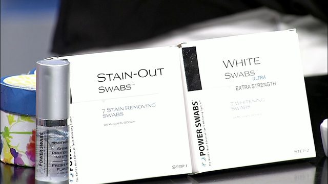 Whiten your smile in minutes