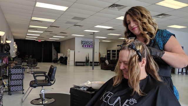 Roanoke hair salon not charging for services, pay what you can