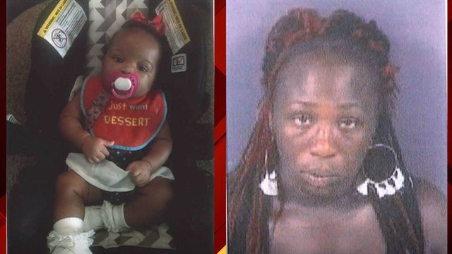 Amber Alert issued for 4-month-old North Carolina girl reportedly…