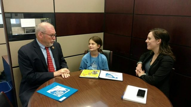 10-year-old Floyd County girl lobbies lawmakers for Type 1 diabetes funding
