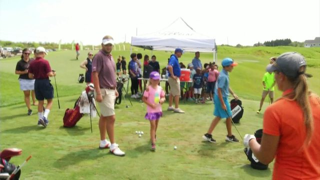 STATE OPEN GOLF CLINIC