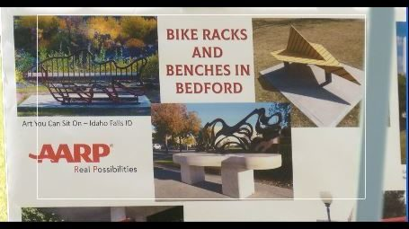 Town of Bedford to get new bike racks, benches, trash cans in downtown
