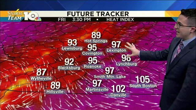 Chris' July 18, 2019 Morning Forecast